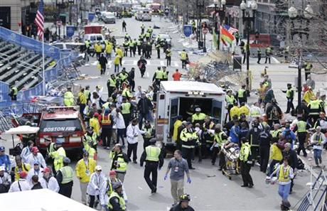 Beantown Bombings, Blasts Rock The Boston Marathon! Violence often makes irrational fools of many mighty minds. We have at least 3 dead and 136 wounded people, with ages ranging from 2 to 71 years old.