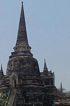 This was taken at either Wat Phra Chetuphon, more commonly called Wat Po, or The Temple of The Dawn, Wat Arun.