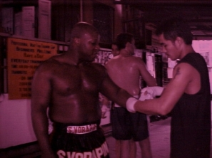 This is what happens when large americans wear small asian shorts. #Sor Vorapin #Muay Thai