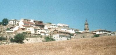 A romantic view of the village I camped near. El Molino. I think. We went during siesta to visit.