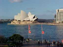 The Sydney Opera House No one visits Sydney without at least taking a peek at this world famous venue for the arts and culture. Every time I've gone to an event there I am taken back by it's magnificent structure and the artists that I see perform. On my birthday I was treated to the Sydney Orchestra with featured soloist, acclaimed master Taiko drummer Eitetsu Hayashi!