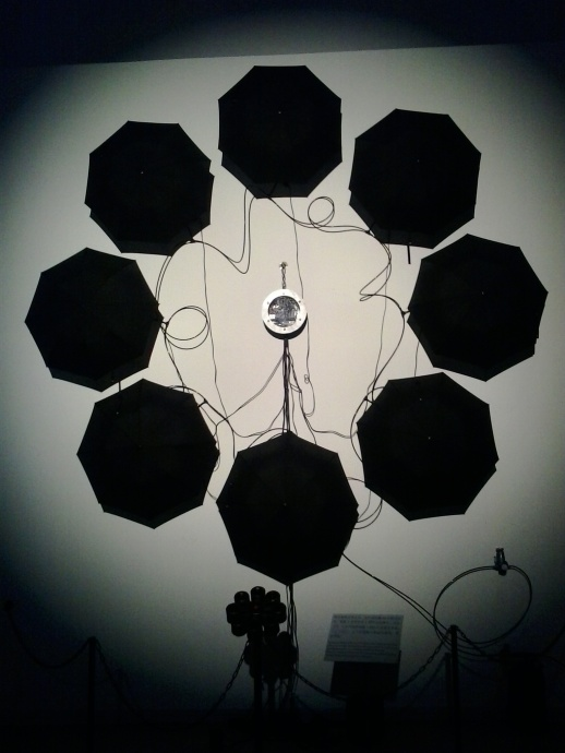 """I have a video for this """"moving umbrella exhibit"""". I'll add it to a video on Shanghai I am making. Its at The Power Station of Art, Shanghai"""