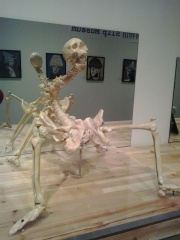 Very similar to the Uterus Man exhibit. This is The Power Station of Art, Shanghai
