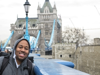 Me at the Tower Bridge